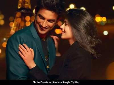 Sanjana pens a heartfelt note for Sushant