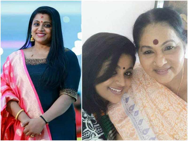 Veena Nair misses her on-screen mother KPAC Lalitha; shares a love-filled note