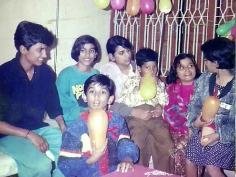 Sushant Singh Rajput's childhood photo at a birthday party is all things adorable!