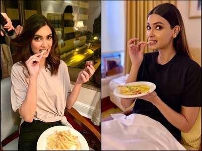 Photos: Diana Penty has fries on her mind