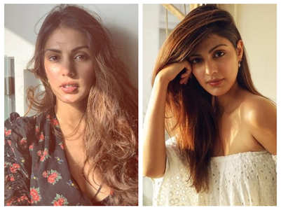 Five sun-kissed pictures of Rhea Chakraborty
