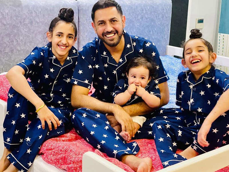 Gippy Grewal spreads smiles by sharing picture and videos of his kids