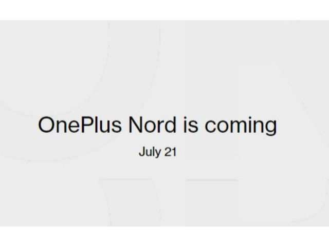 OnePlus Nord will be available for pre-order on Amazon at 1:30pm today
