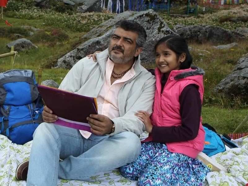 Ajith's on-screen daughter Anikha to make her debut as a lead?