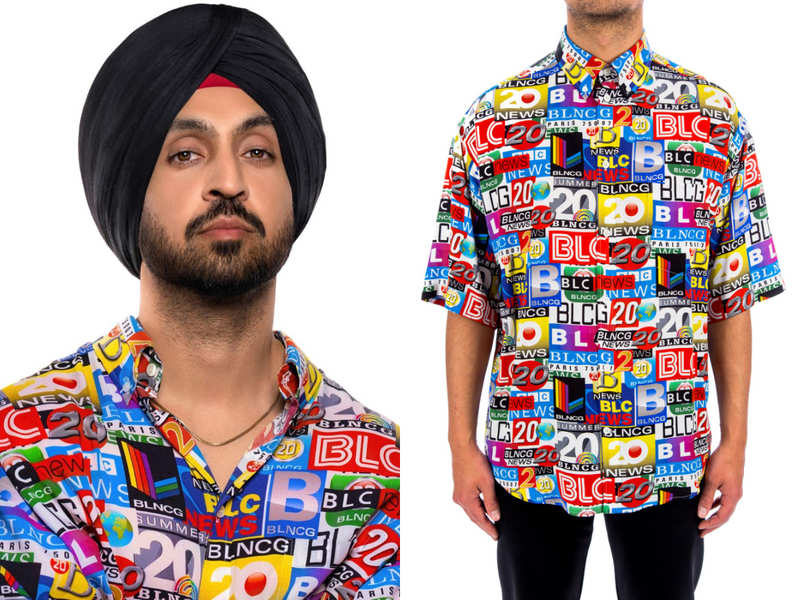 Diljit Dosanjh just wore the quirkiest shirt ever and it costs INR 76,000!