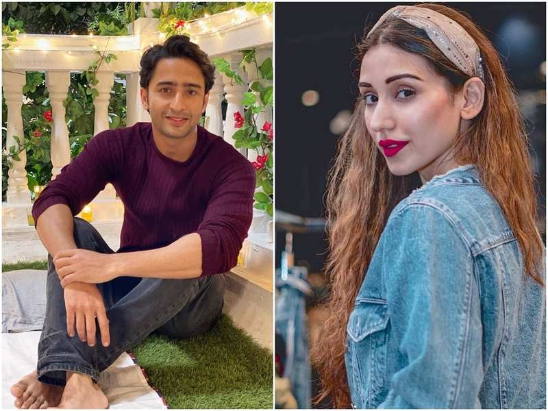 Shaheer Sheikh's special wish for his 'dancing partner' Heli Daruwala on her birthday; watch video