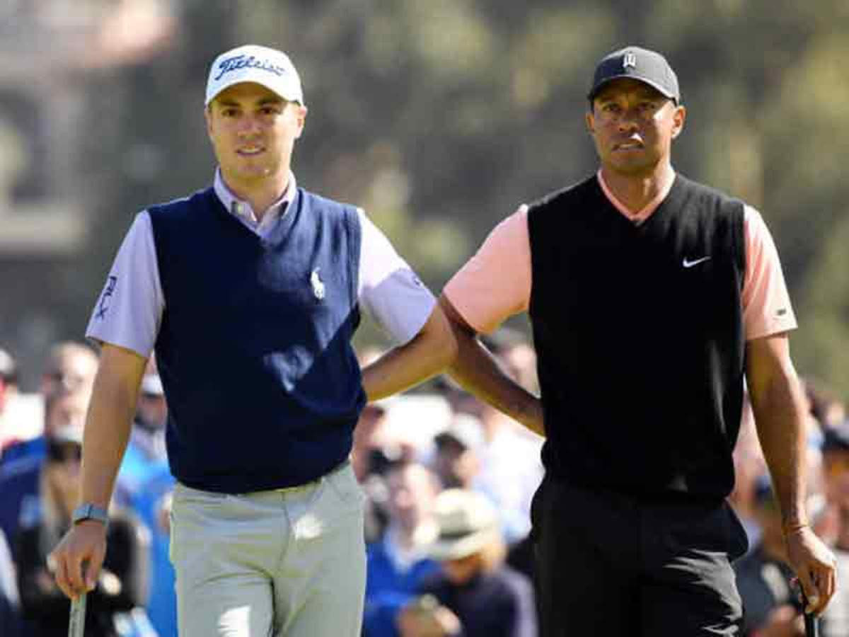 Justin Thomas Ribs Tiger Woods Saying He Is Scared Of Others Golf News Times Of India