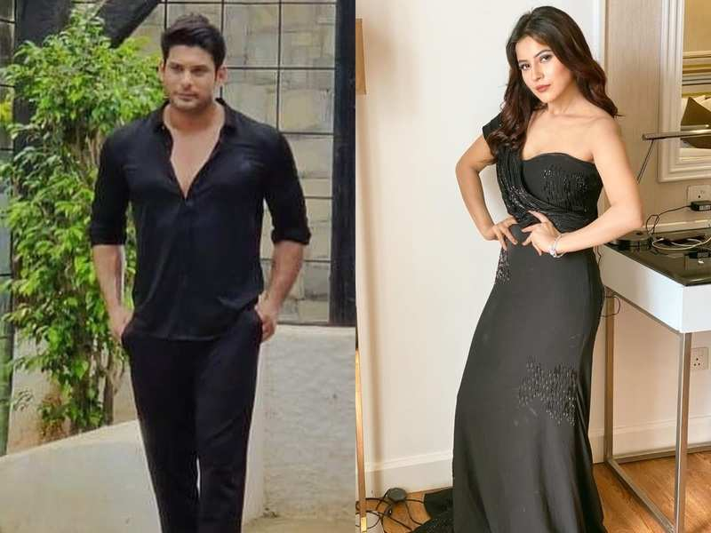 Sidharth Shukla accidentally twins in black with Shehnaz Gill in his new post; their latest photos make #SidNaaz fans go gaga