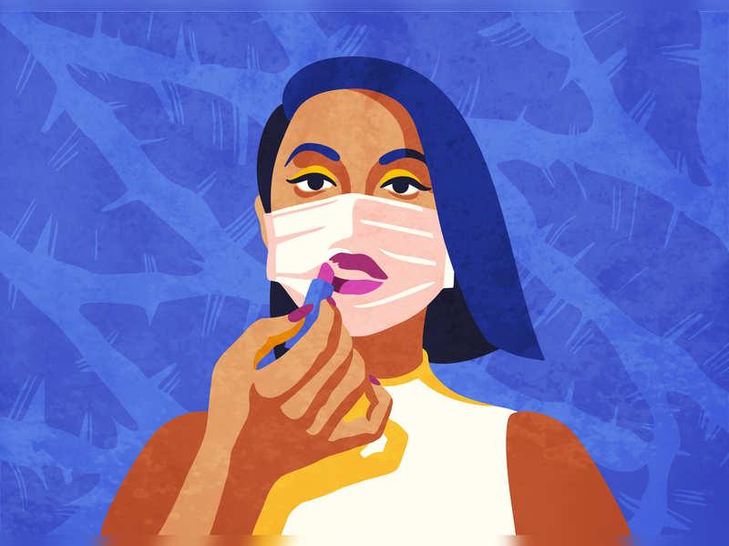 Lipstick sales take a dip, thanks to Coronavirus face masks