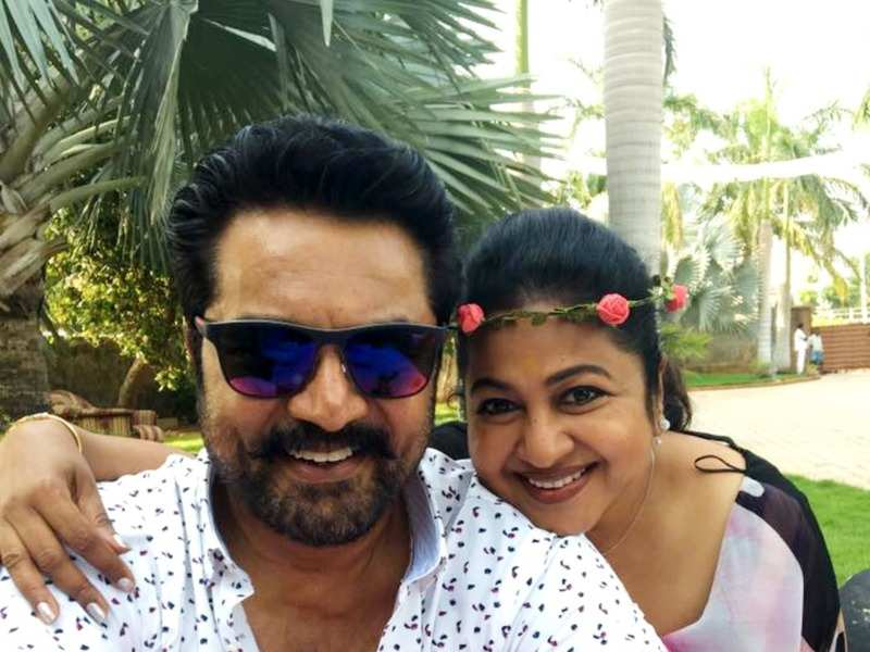 Here's how actress Radhika and Varalaxmi made Sarathkumar's birthday special (Photo - Instagram)