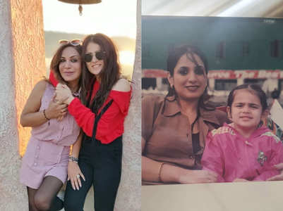 Radhika Madan wishes mother on her birthday