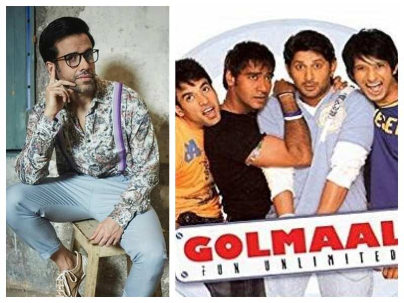 Exclusive! Tusshar Kapoor on 14 years of 'Golmaal': The success of this film was a rebirth for me!