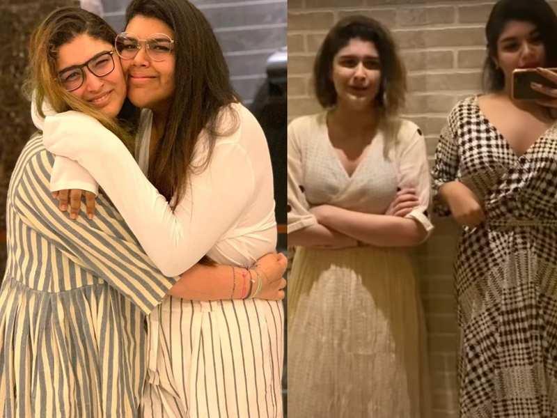 Khushbu's daughters' lockdown video is winning hearts as Avantika lives the life of Anandita