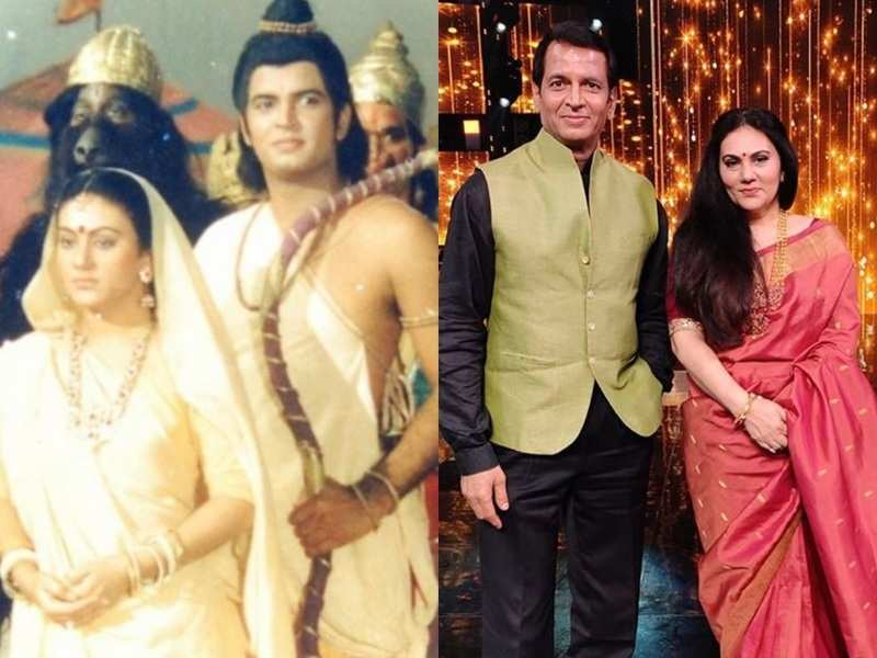 Ramayan's 'Sita' Dipika Chikhlia and 'Lakshman' Sunil Lahri look glam in their latest shoot; share 'then and now' photo
