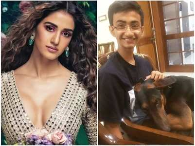 Disha's cute b'day post for her younger bro