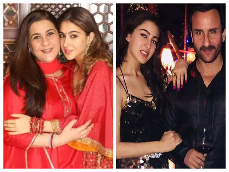 Throwback time! Sara Ali Khan reveals she has inherited THESE from her parents Saif Ali Khan and Amrita Singh