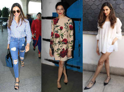 10 times Deepika Padukone ditched heels for flats