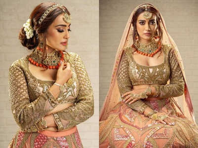 Surbhi Jyoti's bridal shoot is breathtaking