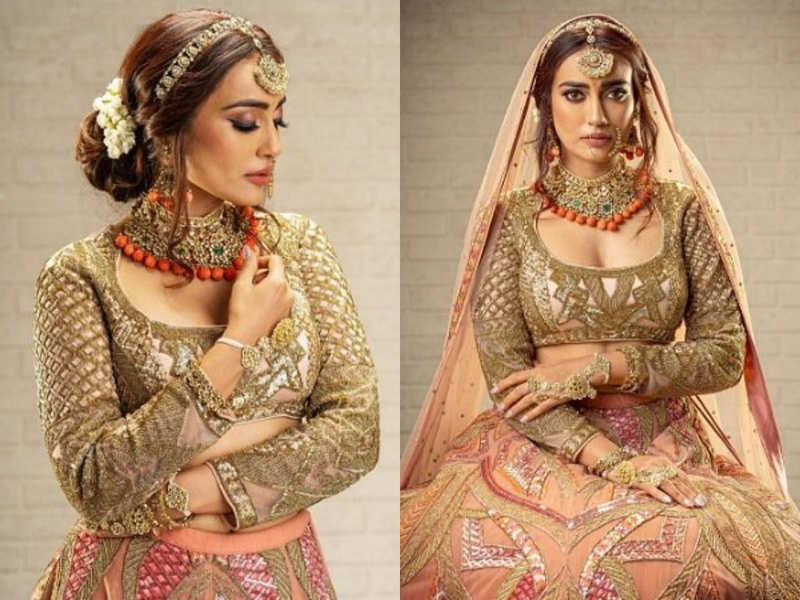 Surbhi Jyoti's bridal shoot is breathtaking, thanks to her beautiful lehenga
