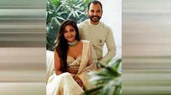 Watch celebrity stylist Eshaa Amiin talk about her lockdown wedding
