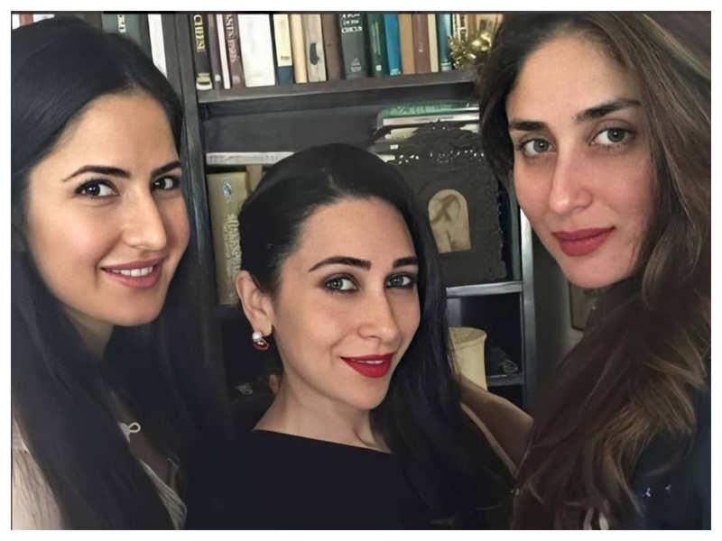 Throwback Thursday: When Katrina Kaif posed with Ranbir Kapoor's sisters Karisma Kapoor and Kareena Kapoor Khan