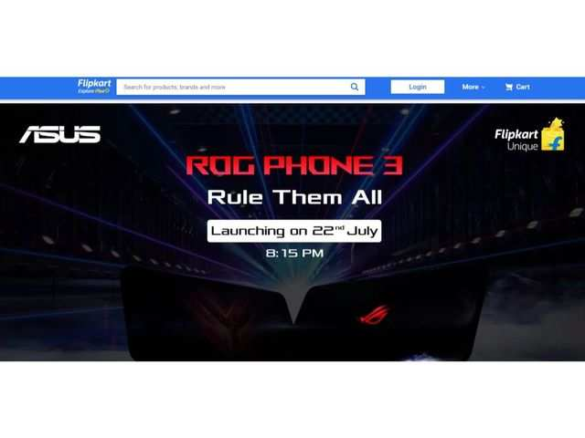 Asus ROG Phone 3 gets listed on Flipkart, to come powered by Snapdragon 865+