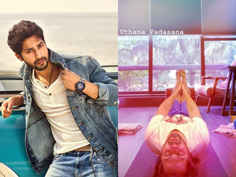 Varun Dhawan's yoga pictures will inspire you to get on the mat