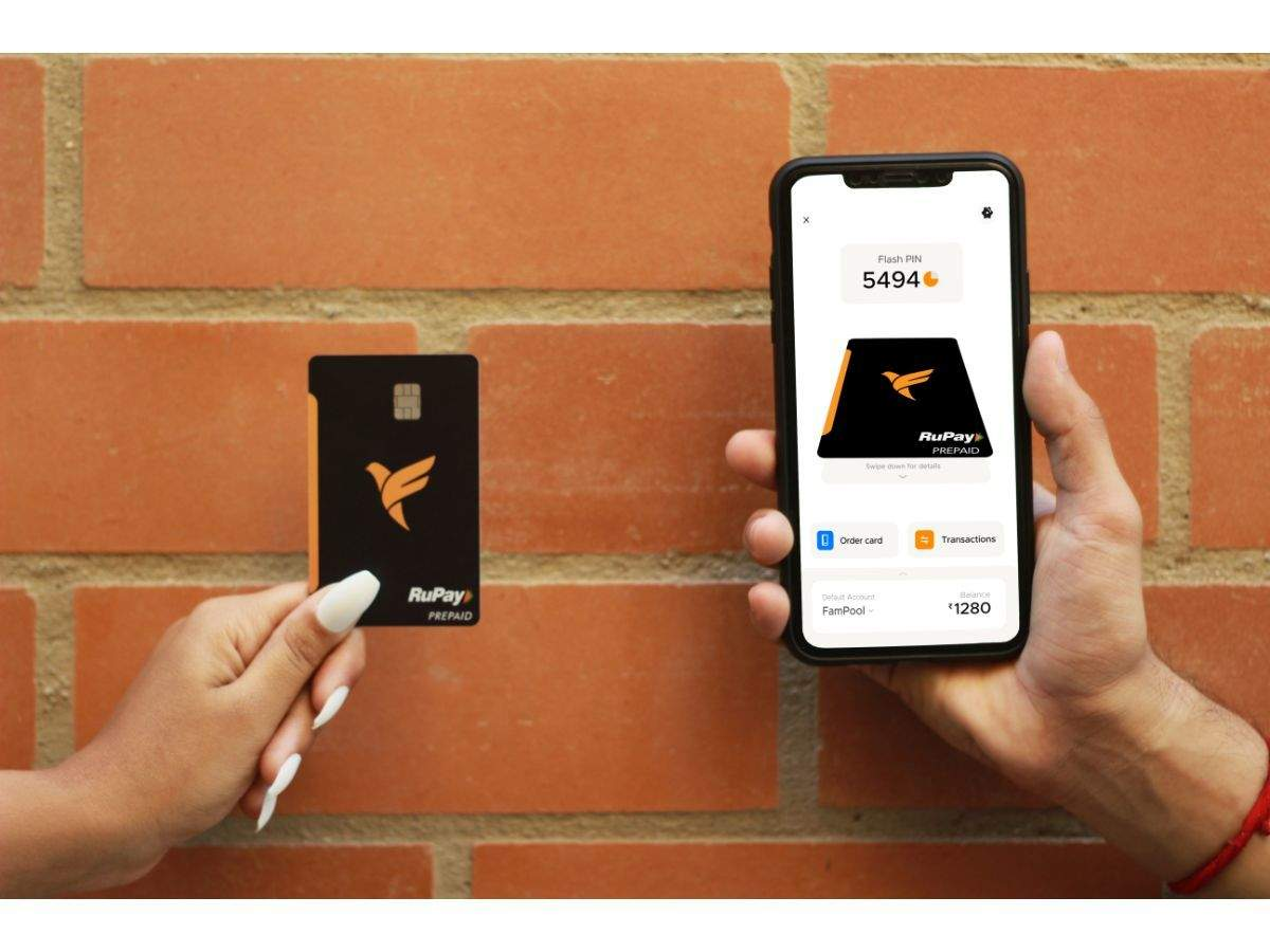 FamPay: FamPay launches 'numberless card' for teenagers - Times of India