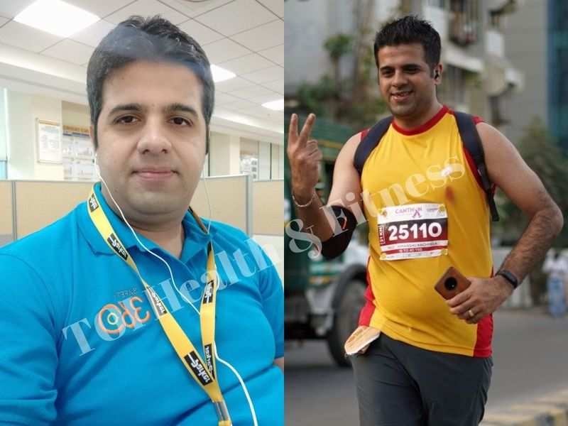 Weight loss story: This guy gave up eating maida, white bread and lost 14 kilos!