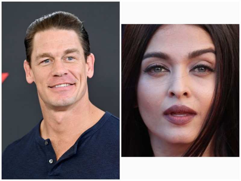 John Cena shares a picture of Aishwarya Rai Bachchan with no caption after she is admitted to hospital due to COVID-19