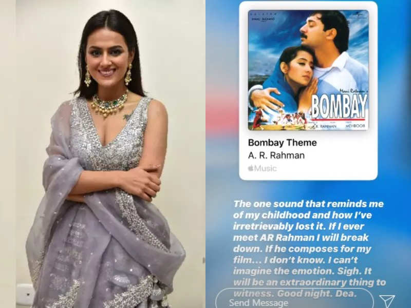 Shraddha Srinath is reminded of her childhood when she listens to Bombay theme music