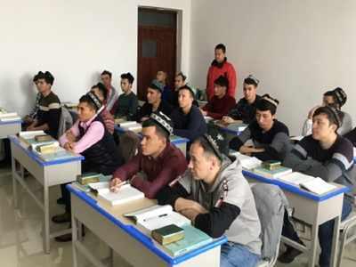 77064953 China slams Britain's feedback on Uighurs as 'slander'
