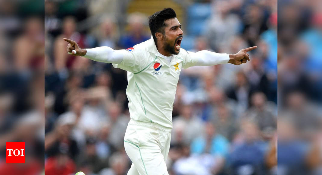 Mohammad Amir Makes Himself Available To Replace Rauf In Pakistan T20 Squad In England Cricket News Times Of India
