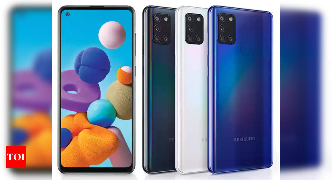 Samsung Galaxy A21s Price Samsung Galaxy A21s Galaxy A31 Gets A Price Cut In India Times Of India