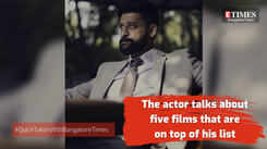 Actor Anirudh Balaji talks about his all time favourite films
