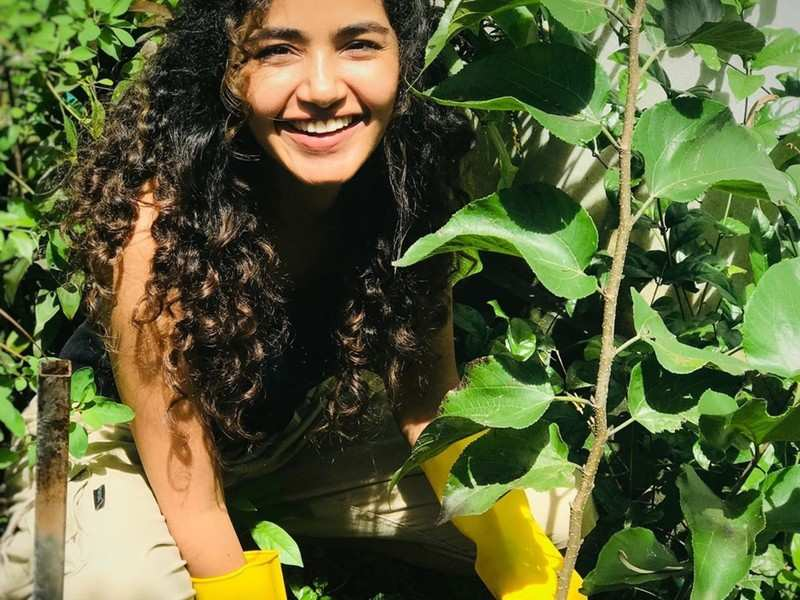 Anupama Parameswaran takes up the Green India Challenge