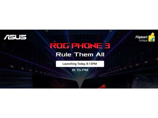 Asus ROG Phone 3 with Qualcomm Snapdragon 865+ processor to launch today: How to watch the live stream
