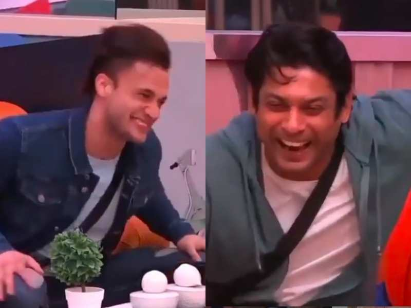 Throwback: When Bigg Boss 13's Sidharth Shukla and Asim Riaz couldn't control their laughter , watch video