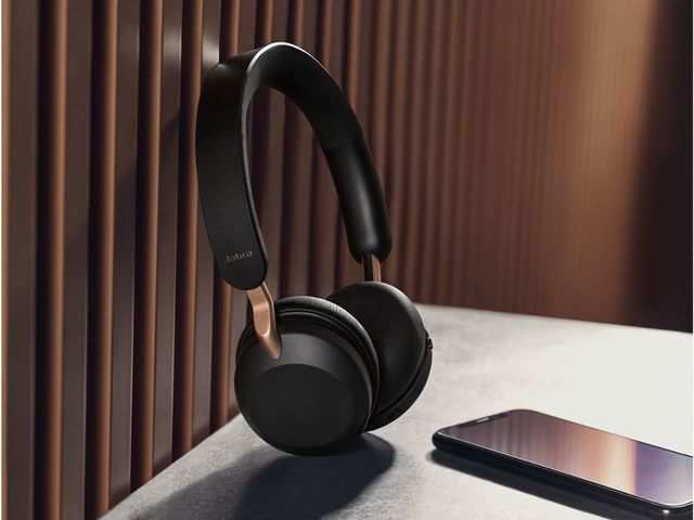 Jabra launches Elite 45h on-ear headphones with up to 50 hours battery at Rs 9,999