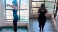 Watch: Sarita Mehandale's intense workout amid lockdown