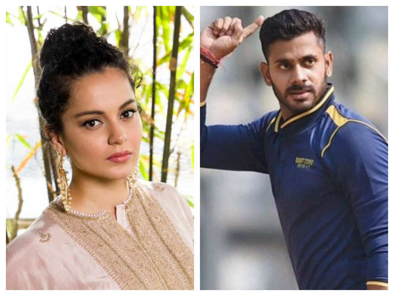 Cricketer Manoj Tiwary comes out in support of Kangana Ranaut, says people attacking her are exposing themselves