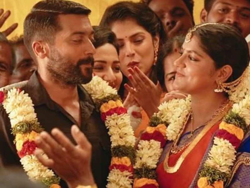 Kaattu Payale Video Song: Suriya and Aparna Balamurali share great chemistry after Veyyon Silli