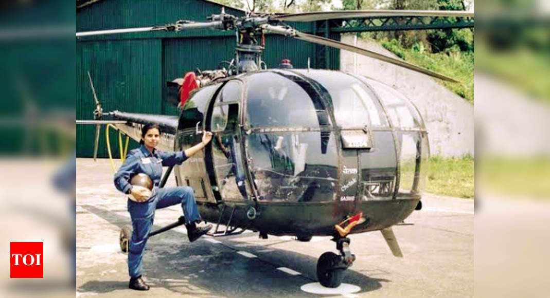 Eyes On The Sky This Kargil Girl Scripted History In 1999 War Zone Lucknow News Times Of India
