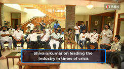 Shivarajkumar on leading the Kannada film industry during this time of crisis
