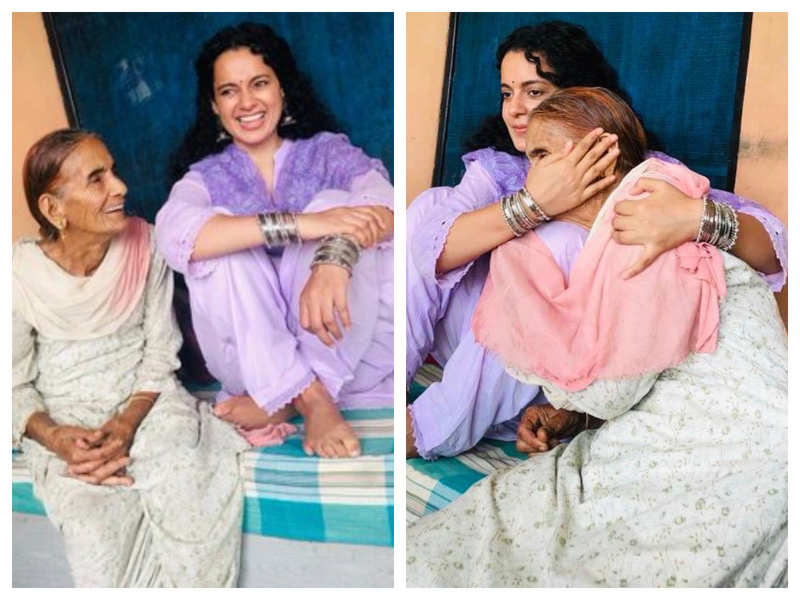 THESE pictures of Kangana Ranaut with her grandmother is sure to melt your heart