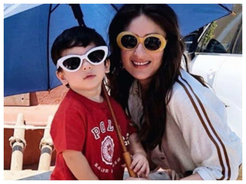 THIS adorable throwback picture of Kareena Kapoor Khan twinning with Taimur Ali Khan will drive away your Monday blues