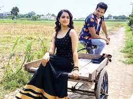 Mrunal Jain and Malvi Malhotra shoot a music video in Varanasi