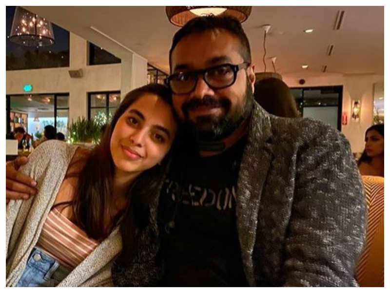 THIS is what Anurag Kashyap has to say about launching his daughter Aaliyah  in Bollywood | Hindi Movie News - Times of India