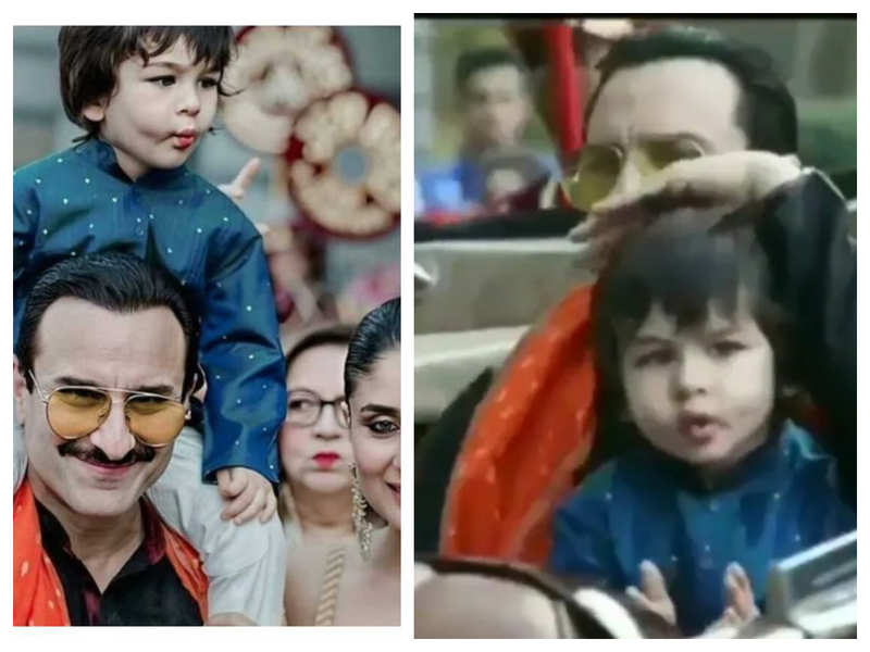 THIS throwback video of Taimur Ali Khan enjoying a car ride with papa Saif Ali Khan is simply unmissable