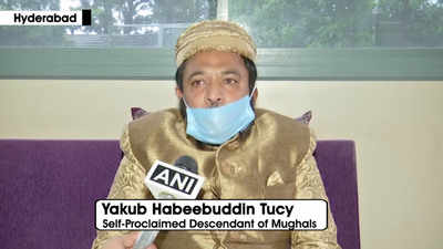 Mughal descendant Prince Tucy offers gold brick for construction ...